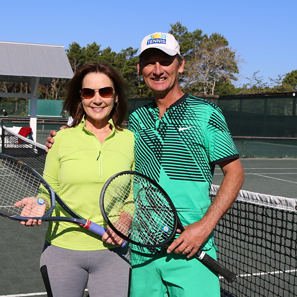 Ellen and tracy townsend for tennis story