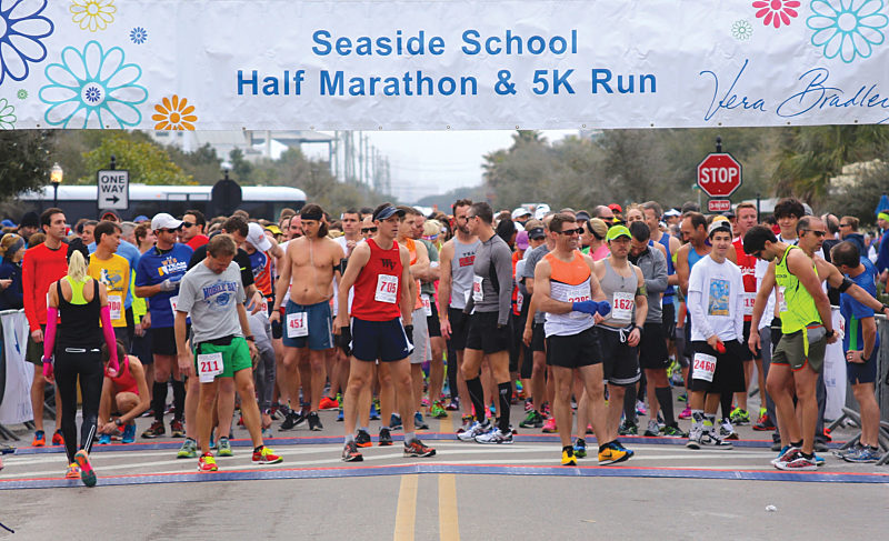 13th Annual Seaside School Half Marathon and 5K in photos