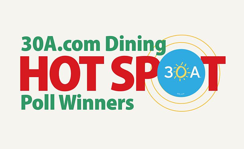30A.com Dining Hot Spot Winners