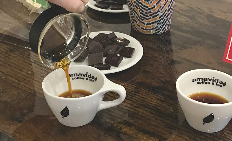 At Amavida, Great Care is Shown with Each Bean Roasted
