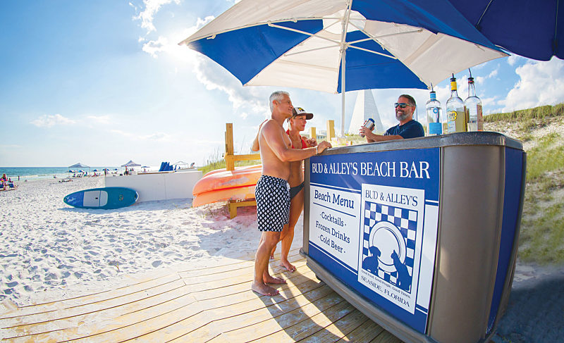 At Your Service: Bud & Alley's Beach Bar + Amavida Coffee + Salty Beach Outfitters