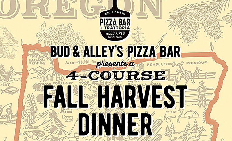 Bud & Alley's Pizza Bar + Trattoria Presents Fall Harvest Wine Dinner