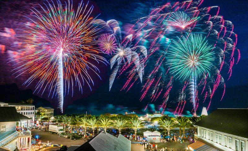 Fourth of July in Seaside, FL