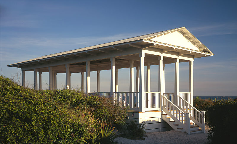 Gateways to the Beach - The Seaside Pavilion