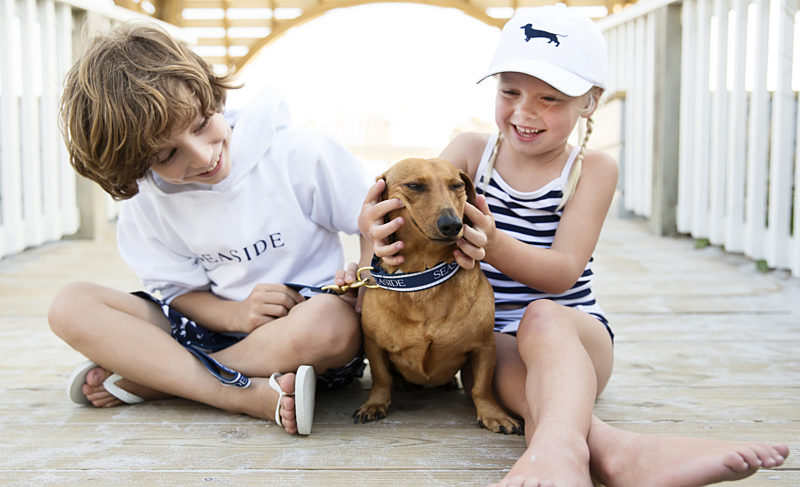 An interview with Seaside's mascot Bud and his owner Erica Pierce