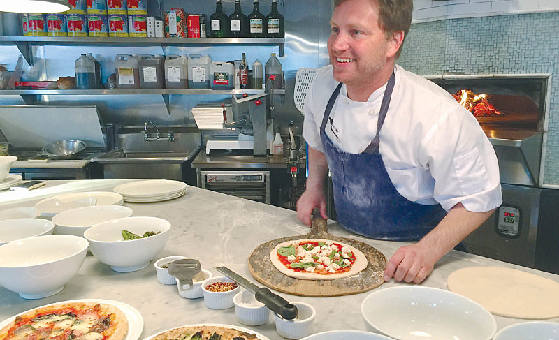 Pizza Bar's Coveted Crab Toast at Food Film  Festival South Walton