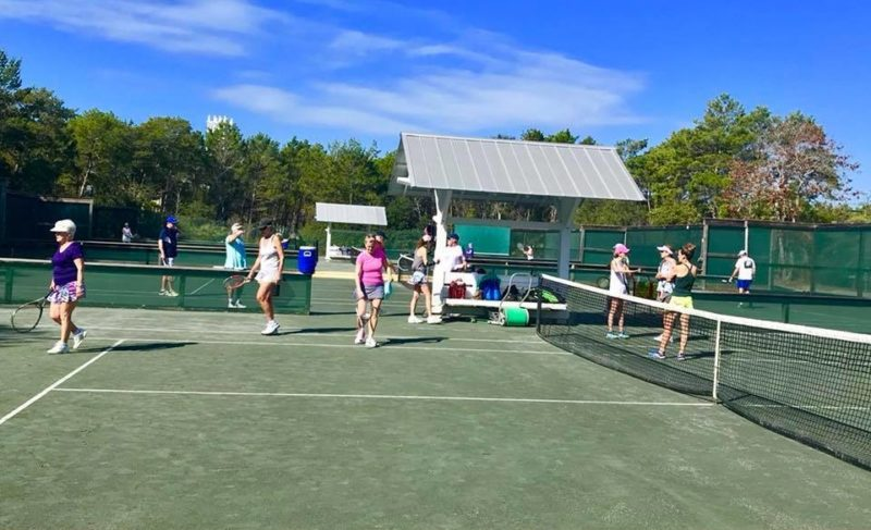 Put a Little Seaside in Your Tennis Game