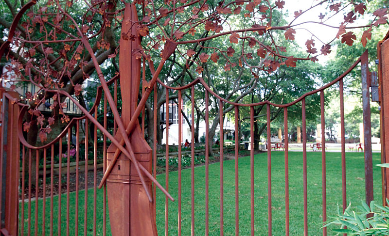 Ruskin Park Gets Decorative Addition