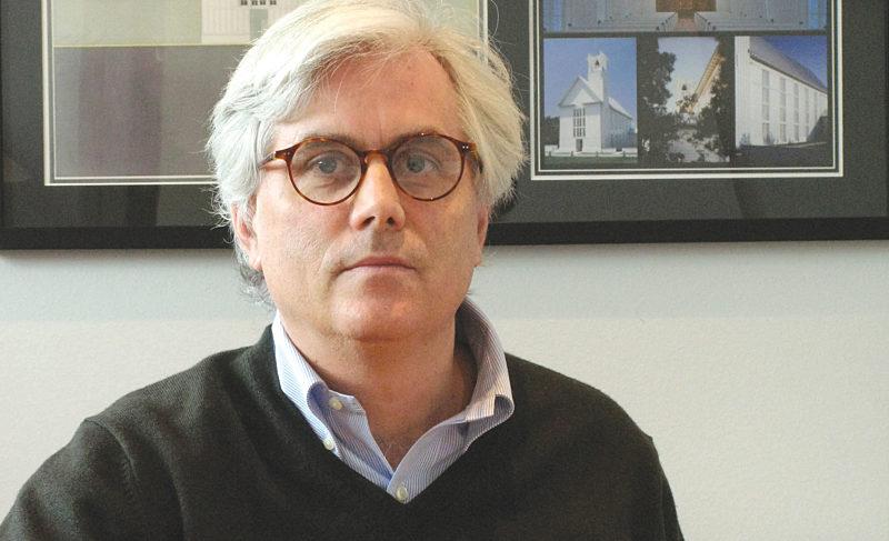 Scott Merrill, this year's winner of the prestigious Driehaus Prize