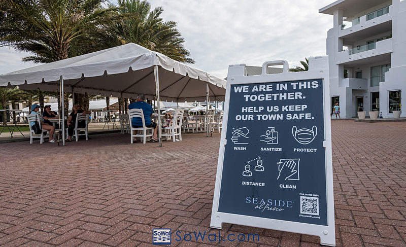Seaside Commercial District Implements a Curfew