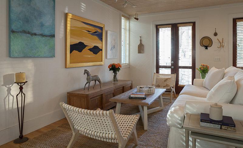 See inside Erica Johansson Greene's recently redone Seaside home Mojo Biblio