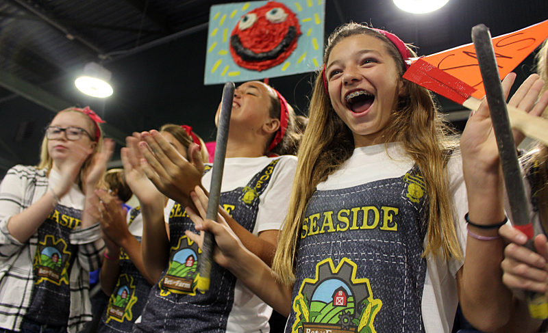 Seaside Neighborhood School Wins Five Awards at the 9th Annual BEST Robotics Competitions