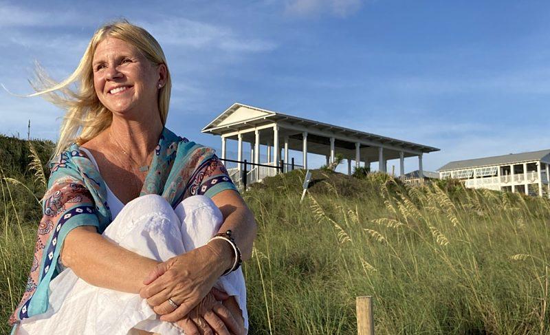 Seaside yoga teacher Michelle Seifert talks about her purposeful practice