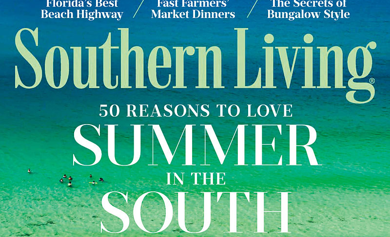 Southern Living features Seaside in its June issue