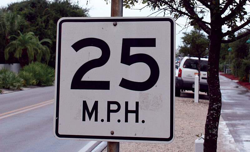 Speed Limits and the Limits of Speed Traps