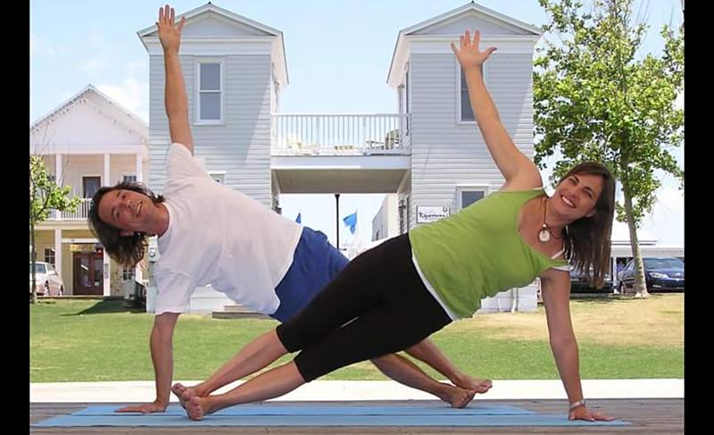 Summer Yoga at the Seaside Amphitheater