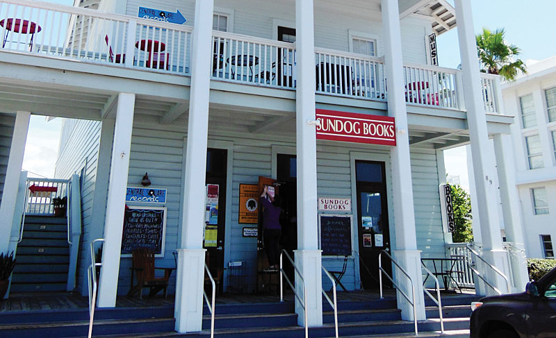 Sundog Books is a popular hang out for book lovers