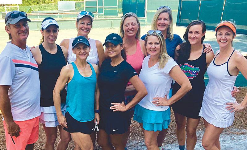 Tennis Season in Seaside