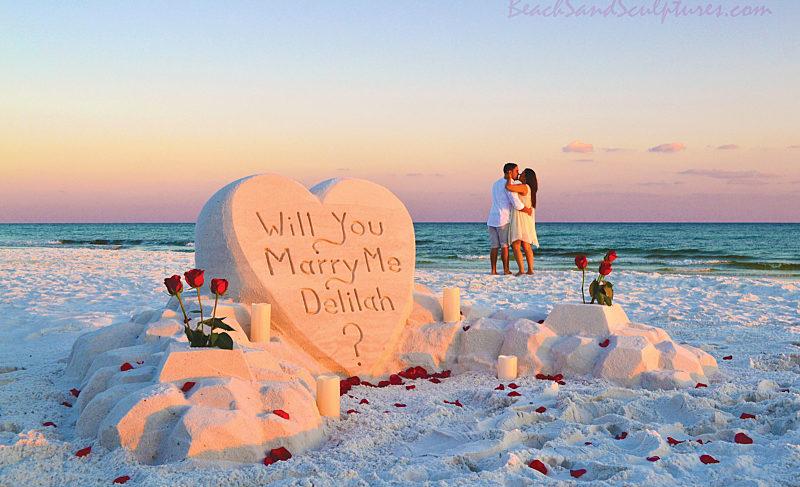 The Most Romantic Spots in Seaside