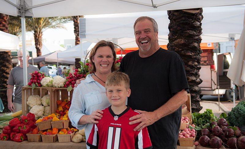 The Seaside Farmers Market serves up fresh local foods each week