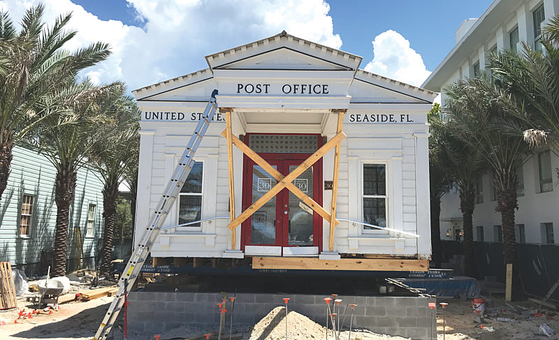 The Seaside Post Office Relocates