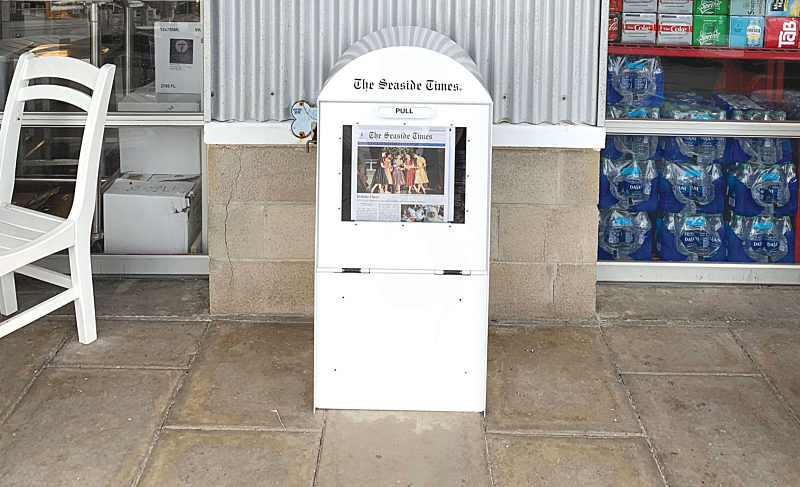 What's New: The Seaside Times Gets New Newspaper Stands